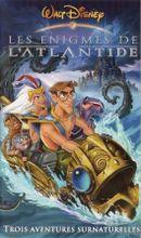 Affiche Les Énigmes de l'Atlantide