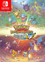 Jaquette Pokémon Donjon Mystère : Équipe de Secours DX
