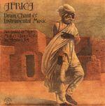 Pochette Africa: Drum, Chant & Instrumental Music