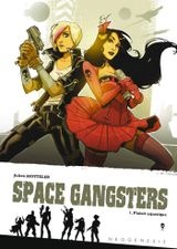Couverture Plaisir aquatique 1/2 - Space Gangsters, tome 1