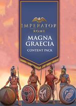 Jaquette Imperator: Rome - Magna Graecia