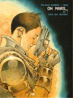 Couverture Ceux qui restent - On Mars, tome 3