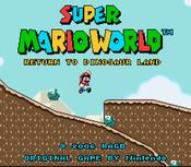 Jaquette Super Mario World: Return to Dinosaur Land