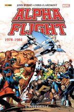 Couverture 1978-1984 - Alpha Flight, L'intégrale T01