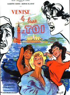 Affiche Venise, la lune et toi