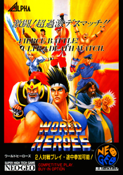 Jaquette World Heroes