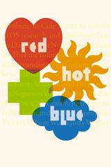 Affiche Red Hot and Blue