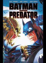 Couverture Batman versus Predator, tome 1