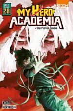 Couverture Destruction massive - My Hero Academia, tome 28