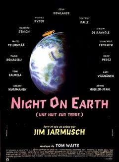 Affiche Night on Earth (Une nuit sur terre)