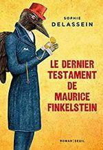 Couverture Le dernier testament de Maurice Finkelstein