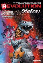 Couverture Revolution : Extension 1 : Transformers / Micronauts