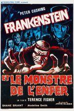 Affiche Frankenstein et le monstre de l'enfer