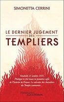 Couverture Le dernier jugement des Templiers