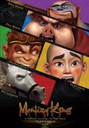 Affiche Monkey King : A Hero's Journey to the West