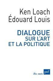 Couverture Dialogue sur l'art et la politique