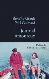 Couverture Journal amoureux (1951-1953)