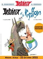 Couverture Astérix et le Griffon - Astérix, tome 39
