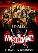 Affiche Wrestlemania 37