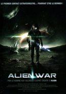 Affiche Alien War
