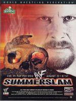 Affiche Summerslam 1999