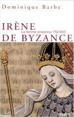 Couverture Irène de Byzance