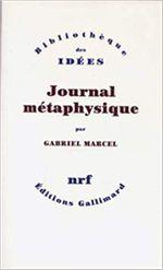 Couverture Journal métaphysique