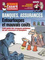 Couverture Banques, assurances, entourloupes et mauvais coûts