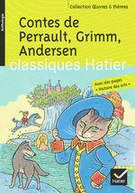 Couverture Contes de Perrault, Grimm, Andersen