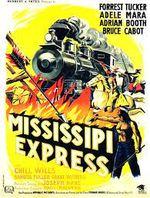 Affiche Mississippi-Express