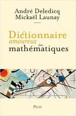 Couverture Dictionnaire amoureux des mathématiques