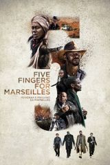 Affiche Five Fingers For Marseilles