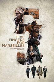 Affiche Five Fingers For Marseilles