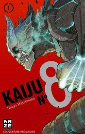 Couverture Kaiju N°8