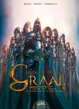 Couverture Les Chevaliers de la table ronde - La Quête du Graal, tome 3