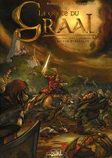 Couverture Arthur Pendragon - La Quête du Graal, tome 1