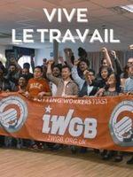 Affiche Vive le travail !