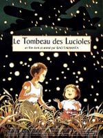 Affiche Le Tombeau des lucioles