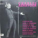 Pochette Charles Aznavour (Je M'voyais Déjà)