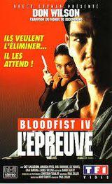 Affiche Bloodfist IV : L'Épreuve