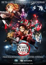 Affiche Demon Slayer : Le Train de l'infini