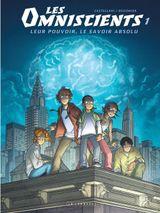 Couverture Phénomènes - Les Omniscients, tome 1