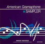 Pochette American Gramaphone Sampler