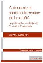 Couverture Autonomie et autotransformation de la société