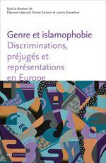 Couverture Genre et islamophobie