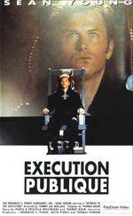 Affiche Exécution publique