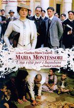 Affiche Maria Montessori : Une vie au service des enfants
