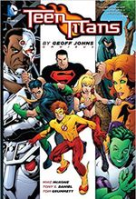 Couverture Teen Titans by Geoff Johns Omnibus