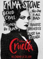 Affiche Cruella