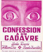 Affiche Confessions à un cadavre